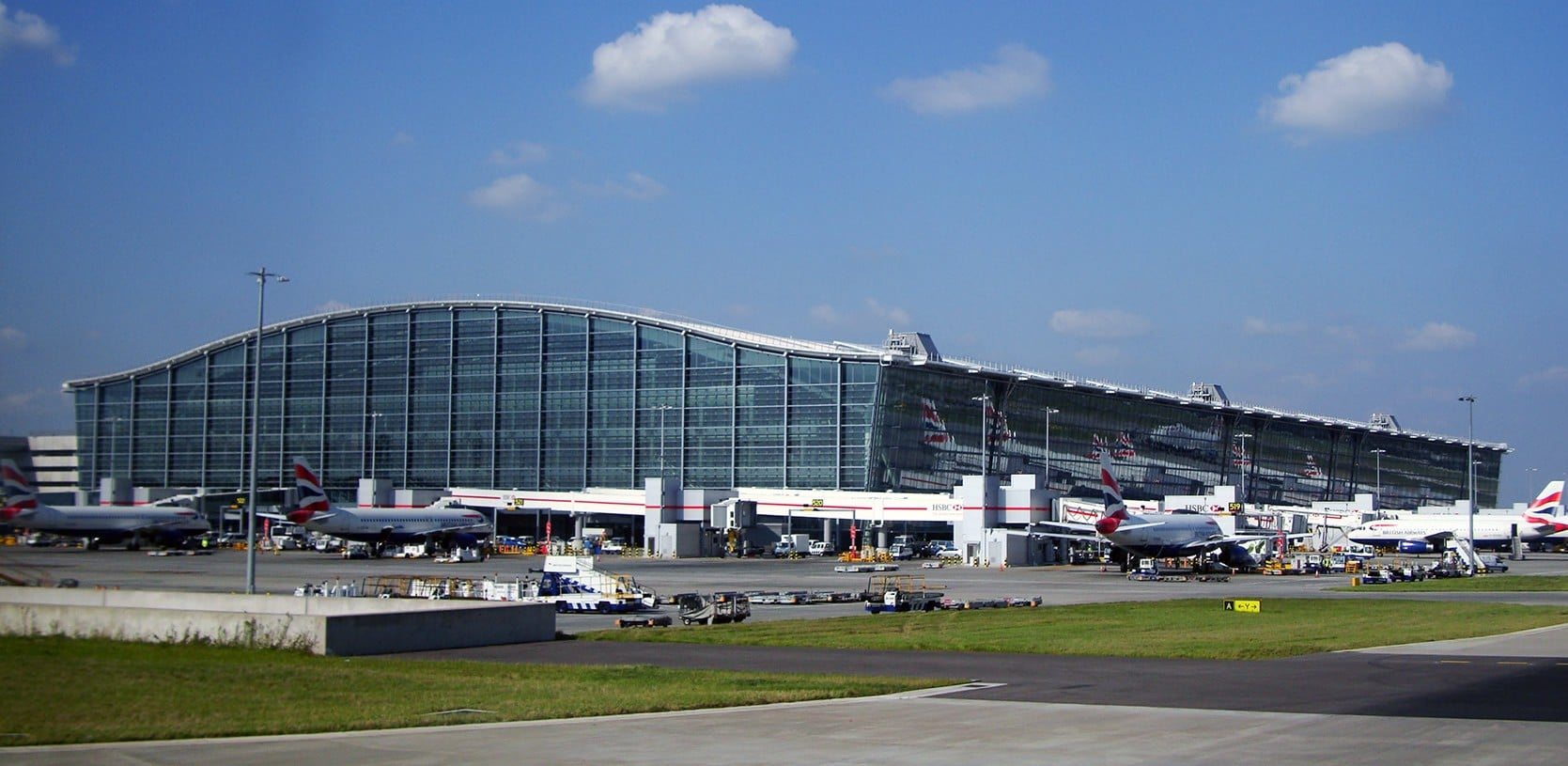 Heathrow Airport is the busiest airport in the United Kingdom