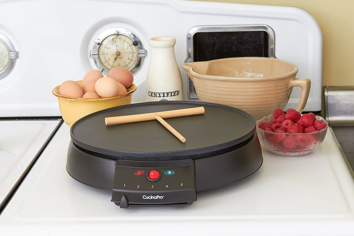 A fantastic range of professional crepe makers